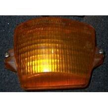 Blinker / Blinklicht / Blinkleuchte Audi Coupe 81 .1 Glas / R gelb - 9.78 - 8.84 - gebraucht
