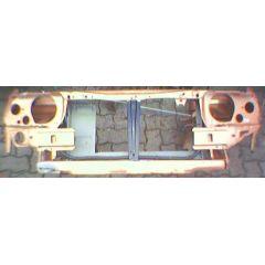 Frontblech Front Opel Kadett E - GM / Vauxhall Astra .2 / Daewoo Nexia9.84 - 8.91 Abschnitt gold - Reparaturbl