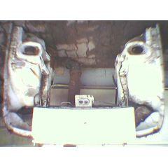 Frontblech Front Porsche 924 / 944 - 9.74 - 8.88 Abschnitt weiß - Reparaturblech / Karosserieteil - gebraucht