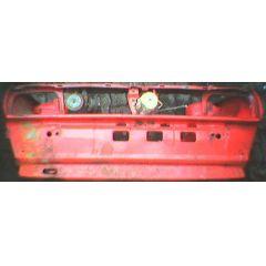 Frontblech Front VW Polo / Derby 2 86C .1 - 9.83 - 8.90 Abschnitt rot - Reparaturblech / Karosserieteil - gebr