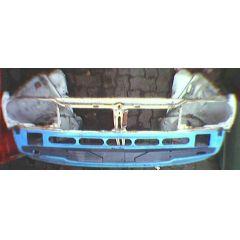Frontblech Front VW Passat / Santana 32B 4 Zyl. - 9.80 - 8.88 Abschnitt weiß - Reparaturblech / Karosserieteil