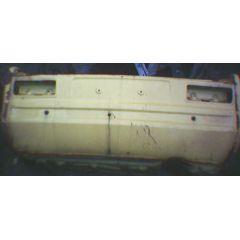 Heckblech Heckteil Opel Kadett C 4 T Limousine - 9.73 - 8.79 - incl. Seitenteil Abschnitt gelb - Reparaturblec