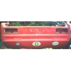 Heckblech Heckteil Opel Kadett C 2 T Limousine - 9.73 - 8.79 - incl. Seitenteil Abschnitt rot - Reparaturblech