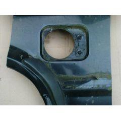 Reparaturblech Tankloch VW Polo / Derby 86C Coupe / Steilheck - 9.81 - 8.94 - Ausschnitt - gebraucht