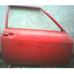 Tür Audi 50 / VW Polo / Derby 86 .1 2 / 3T / R rot - 9.73 - 8.83 - gebraucht