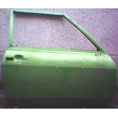 Tür VW Polo / Derby / Audi 50 \* 86 .2 2 / 3T / R grün met. - 9.73 - 8.83 - gebraucht