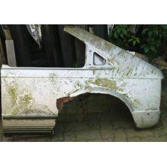Seitenteil Opel Kadett D 3 Türer L silber - GM / Vauxhall Astra .1 9.79 - 8.84 - Kotflügel Hinten + Original -