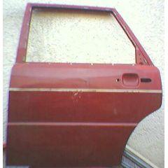 Tür Audi 80 / 90 81 / 85 / Q 4T / HL rotbraun - 9.78 - 8.86 - gebraucht