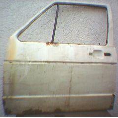 Tür VW Golf 1 / Jetta 1 / Caddy 14 / 16 / 17 .2 4 / 5T / VL alpin weiß - 9.77 - 8.83 - gebraucht