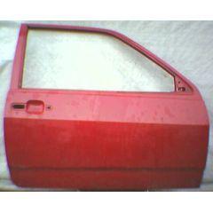 Tür VW Polo / Derby 2 86C .2 2 / 3T / R burgunder rot - 9.90 - 8.94 - gebraucht