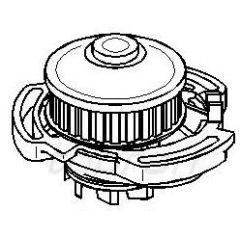 NEU + Wasserpumpe VW Polo / Golf 2 / Jetta 2 / Terra + + + NEU