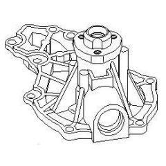 NEU + Wasserpumpe Audi 80 / A 4 / A 6 A4 / A6 - 9.xx - 8.xx - Kühlsystem / Wasserkühlung + + + NEU