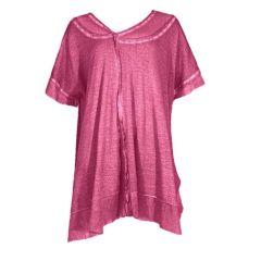 Lagenlook Pullover pink