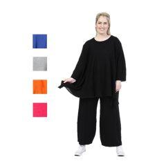 Lagenlook Strick-Tuniken oder Pullover