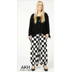 Lagenlook Hose Karo AKH Fashion