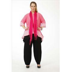 Lagenlook Pullover Sommerfarben