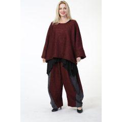 Lagenlook Pullover Herbst Winter große Größen 6 Farben