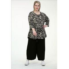 Slinky-Shirts schwarz-beige