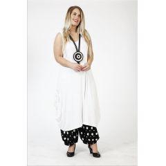 Lagenlook Sommer-Kleid weiß