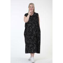 bequeme Sommerkleider schwarz-weiß große Größen