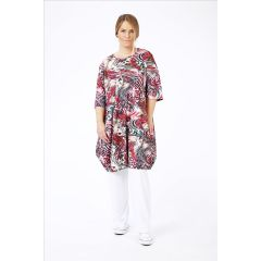 Lagenlook Tunika-Kleider tolle Muster