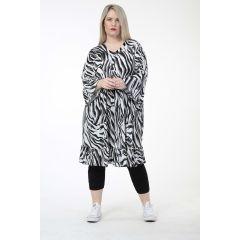 Lagenlook Volant Tunika-Kleider
