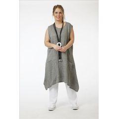 Tunika-Kleider Baumwolle-Viskose 5 Farben