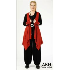Lagenlook Weste kupfer AKH Fashion