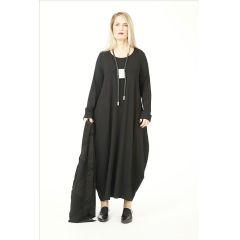 klassisches langes Lagenlook Kleid