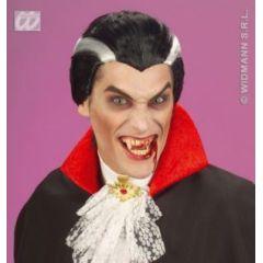 Perücke - Vampir mit grauen Streifen (Erwachsene) - Karneval