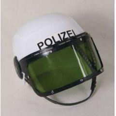 Helm - Polizeihelm für Kinder - Einheitsgröße mit Visier