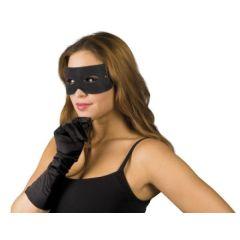 Maske - Augenmaske Bandit - schwarz (Karneval)