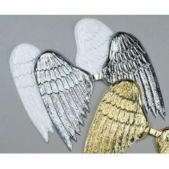 Engelsflügel gold aus Plastik ca. 60 cm (ein Paar)