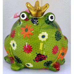 Pomme Pidou Frosch Freddy, Greenline, Design große Blumen