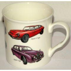 Becher für Männer, Design Classic Car