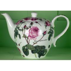 Jameson und Tailor Teekanne 1,5 Liter, Dekor Englische Rose