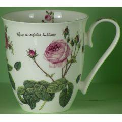 Jameson und Tailor Becher 0,6 Liter, Dekor Englische Rose
