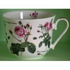 Jameson und Tailor, Jumbotasse Dekor Englische Rose