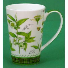 Jameson und Tailor, Becher Dekor Scottish Tea, 0.3 Liter, Brillantporzellan