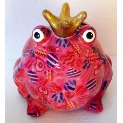 Pomme Pidou Frosch Freddy, Pink Edition, Design Herzen