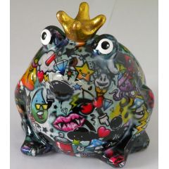 Pomme Pidou Frosch Graffiti mit Horror, Spardose
