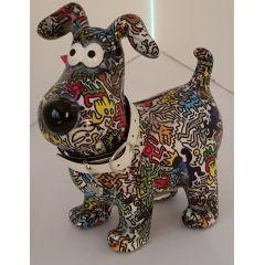Pomme Pidou Hund Hugo Design Graffiti Figuren