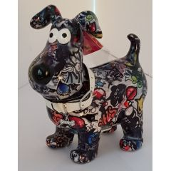 Pomme Pidou Hund Hugo Design Graffiti