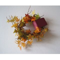 Herbstlaub Girlanden 180 cm lang Puppenhaus Dekoration Miniaturen 1:12