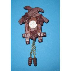 Mini Kuckucksuhr Wohnzimmer Puppenhaus Möbel Deko Miniatur 1:12