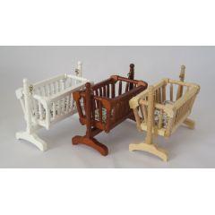 Schaukelwiege Kissen Puppenhausmöbel Miniatur 1:12