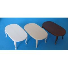 Puppenhaus Tisch oval Puppenhausmoebel Miniaturen 1:12