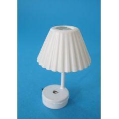 Tischlampe LED weiss Puppenhaus Beleuchtung Miniaturen 1:12
