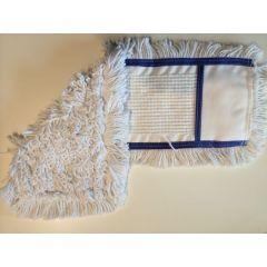 CleanSV Wischmop blau Baumwollmop 10 Stück 40 cm