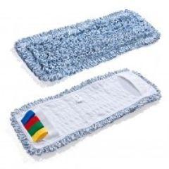 Mikrofaser Baumwollmopp Duo Clean 40 cm blau für alle Klapphalter mit 40 cm breite